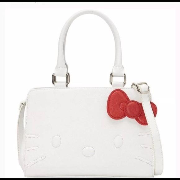 Sanrio Bags   Hello Kitty Loungefly Bag Purse   Poshmark e80bd19bac